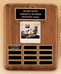 American Walnut Photo Perpetual Plaque Achievement Awards