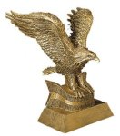 Eagle Resin Figures Achievement Awards