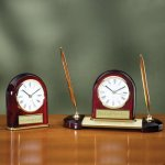 Desk Clock - Domed Achievement Awards