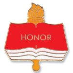 Honor Lapel Pin Education Trophy Awards