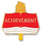 Achievement Lapel Pin Education Trophy Awards