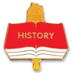 History Lapel Pin Education Trophy Awards