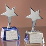 Small Stars with Crystal Bases Employee Awards