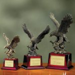 Eagle on Piano Finish Base Employee Awards