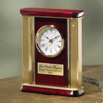 Large Brass and Wood Executive Gift Awards