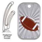 Football Dog Tag GL Series Dog Tags