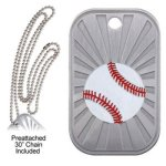 Baseball Dog Tag GL Series Dog Tags