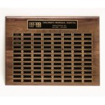 Walnut Perpetual Plaques Golf Awards