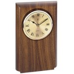 Walnut Clock Mount, Rounded Golf Awards