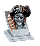 Pirate Mascot Mascot Resin Trophy Awards