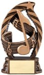 Bronze and Gold Music Award Music Trophy Awards