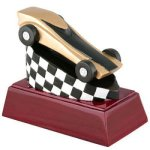 Pinewood Derby Resin Racing Trophy Awards