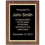 Walnut Recognition Plaque Recognition Plaques
