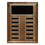 Walnut Perpetual Plaque Religious Awards