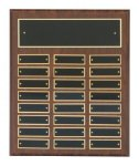 Cherry Finish Perpetual Plaques Sales Awards
