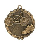 Wreath Triathlon Medal Wreath Medal Awards