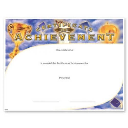 fill in the blank certificates